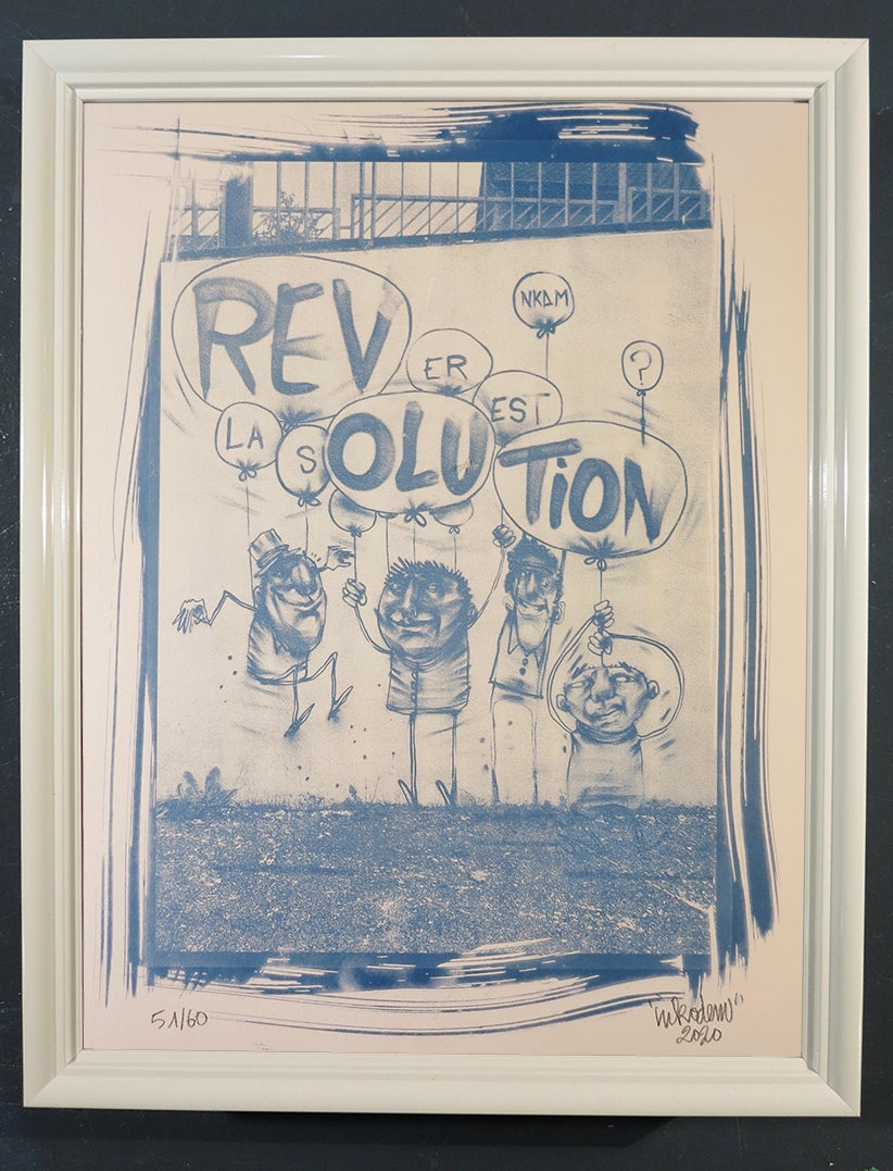 Image of Rêve et solution - Cyanotype - 30x40 - N°51, 52, 53, 54
