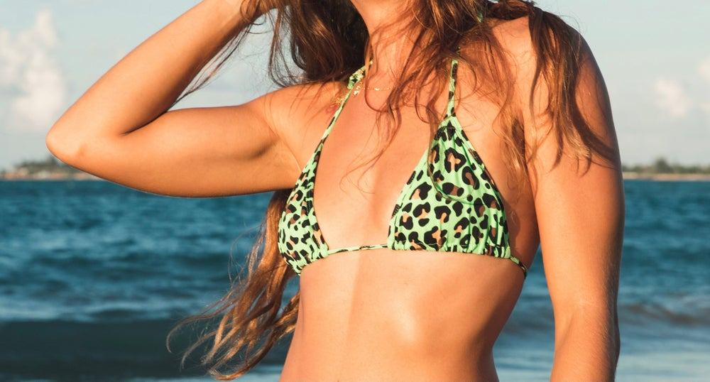 Image of Green Tiger Top