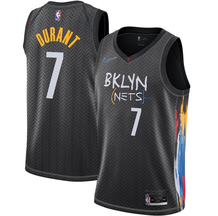 Image of Kevin Durant Brooklyn nets 2020/2021 city edition