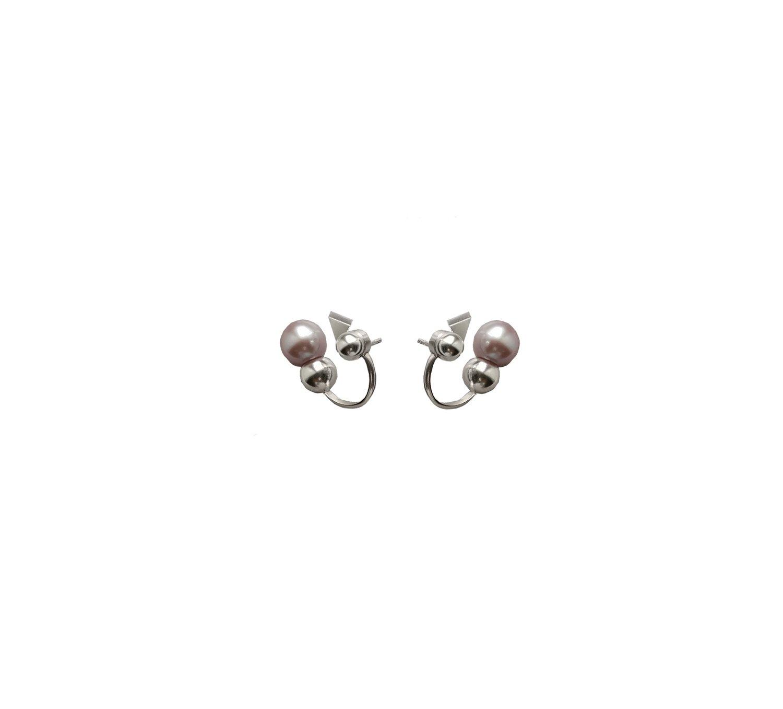 Image of Megadot#12 Pearl silver