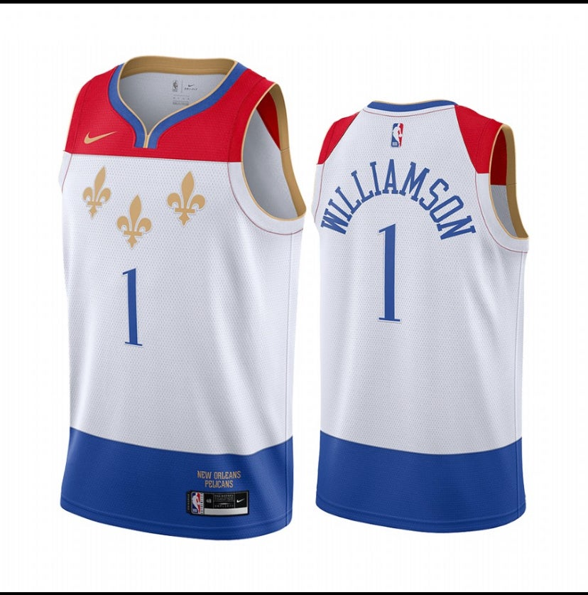 Image of Zion Williamson New Orleans pelicans city edition 2020/2021