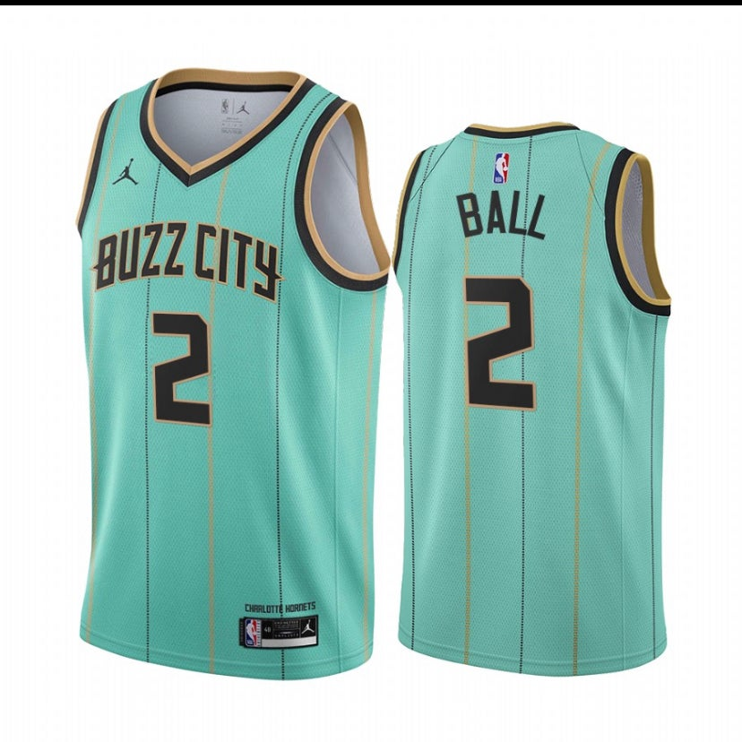Image of Lamelo ball  hornets city edition 2020/2021