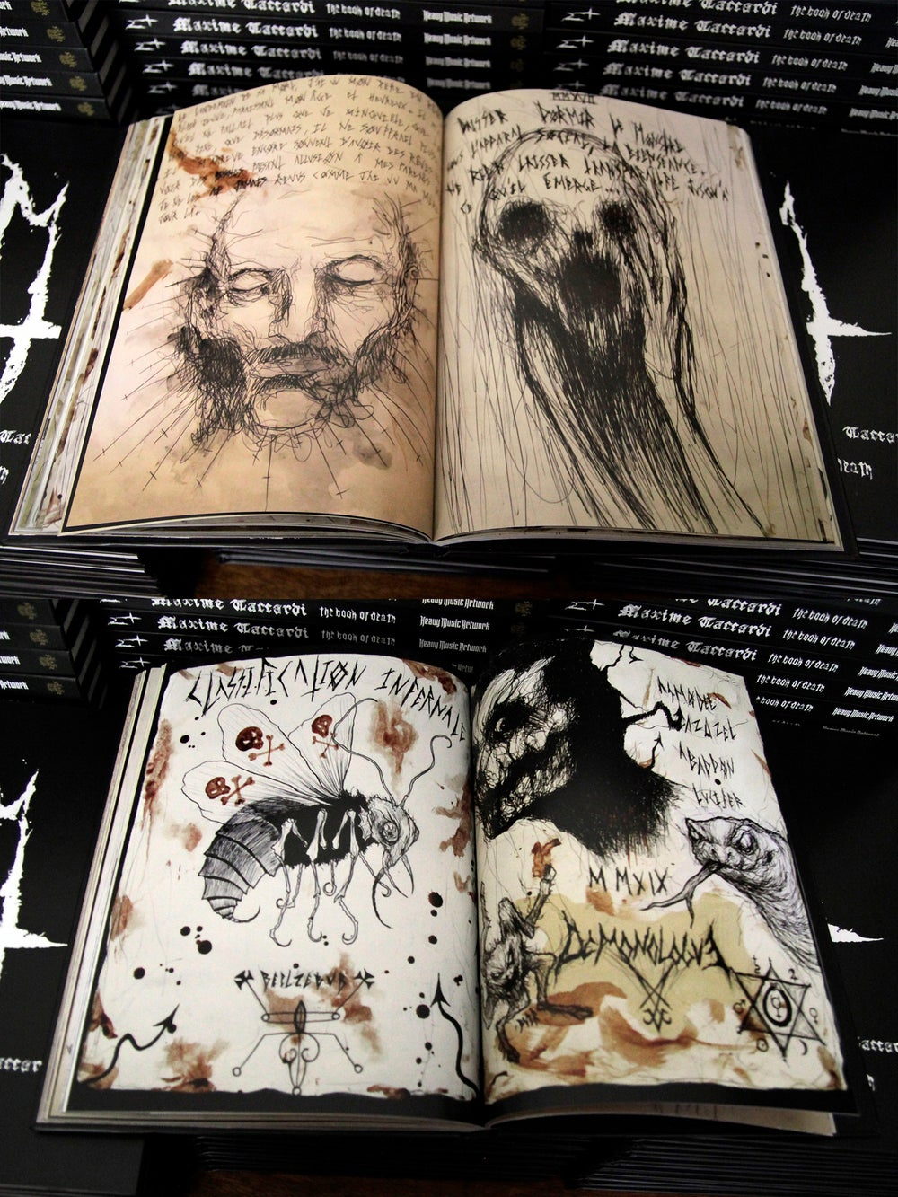 Maxime Taccardi, The Book of Death