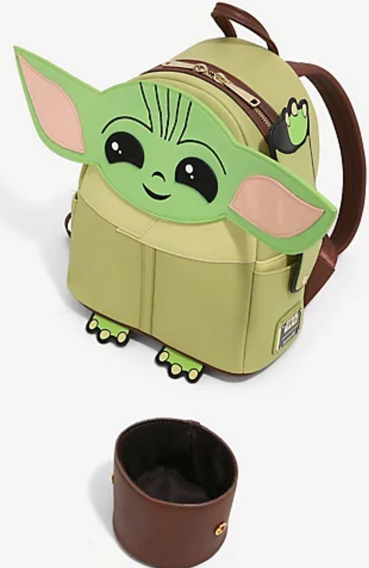 Loungefly - The Child with Cup Mini Backpack