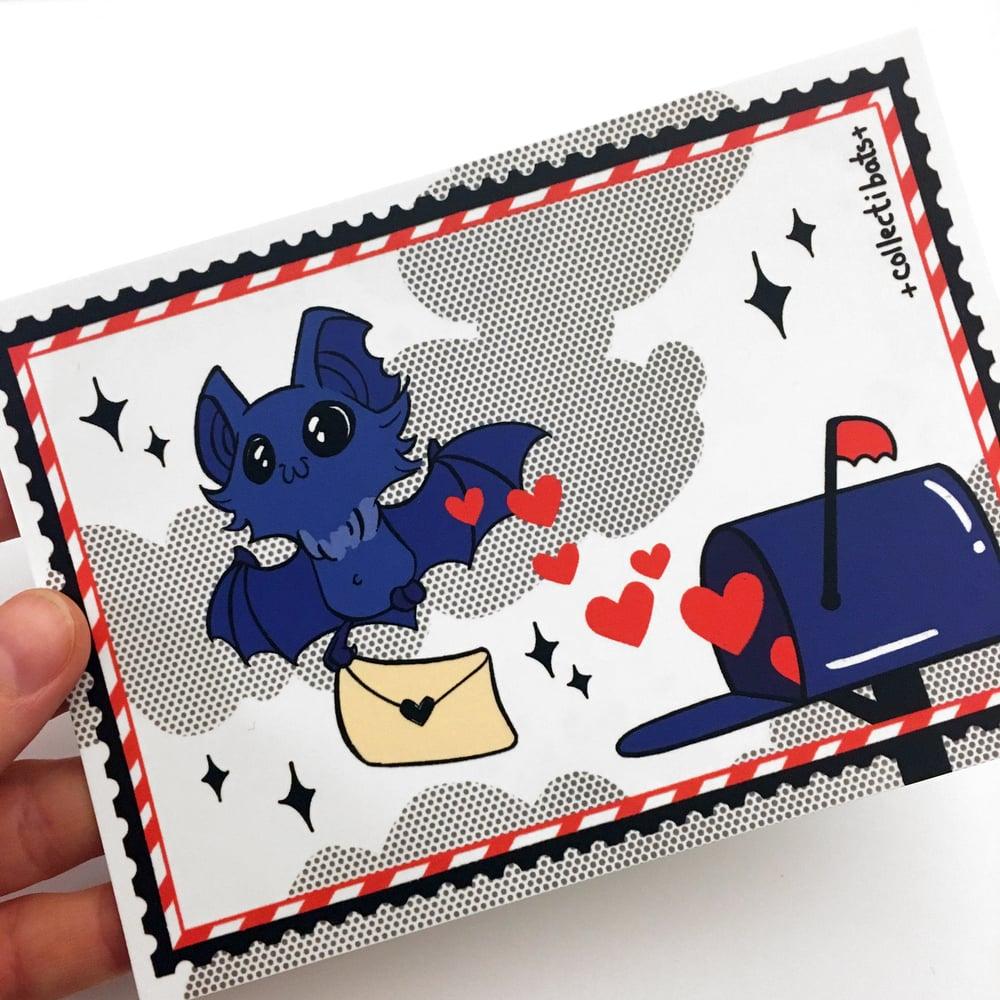 Batty Mail A6 Mini Print / Postcard