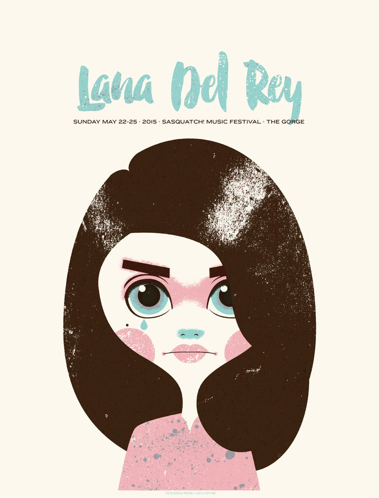 Image of Lana Del Rey - Sasquatch 2015