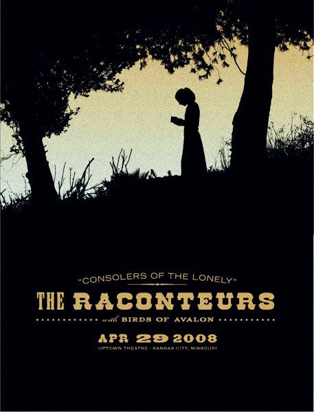 Image of Raconteurs - Kansas City 2008
