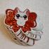 Glitter Bowbean Sticker Image 4