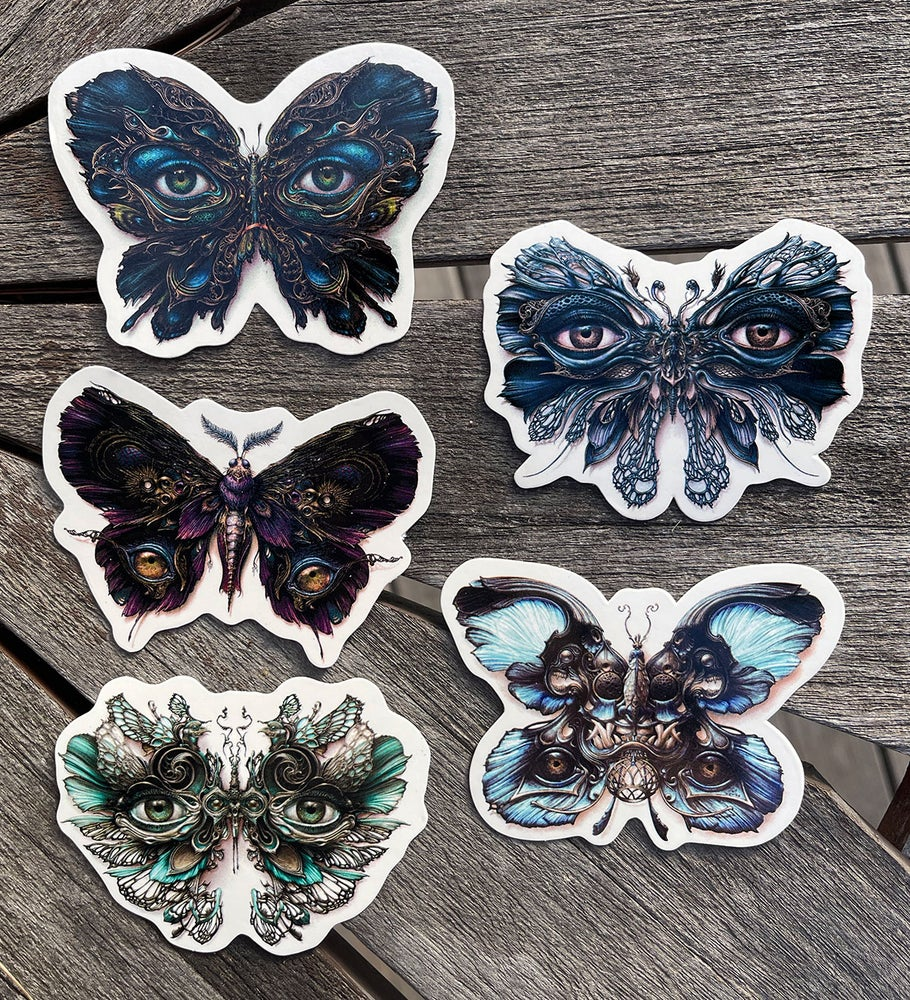 Image of Lepidoptera Pack O' Stickers