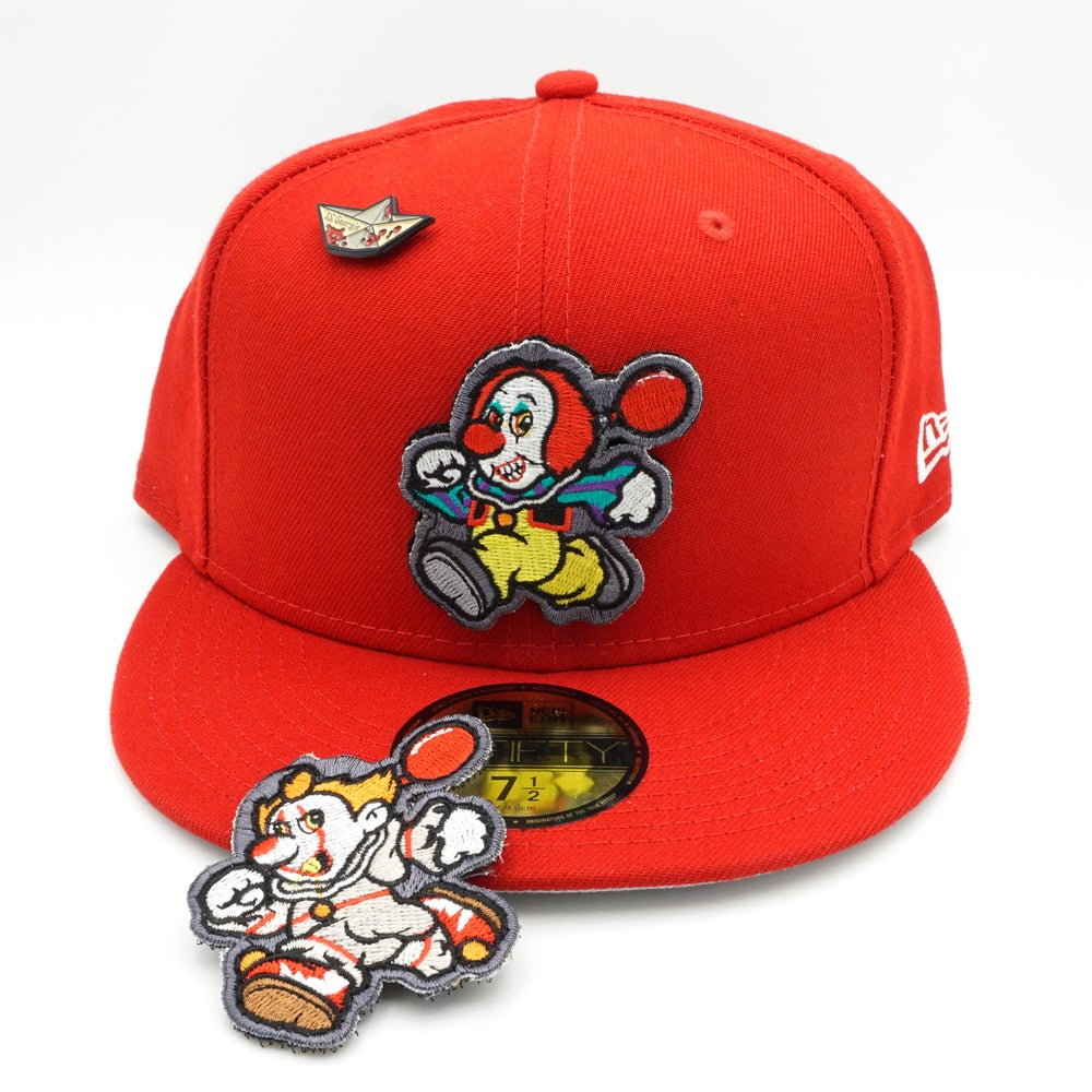 Pennywise Custom 59Fifty Red