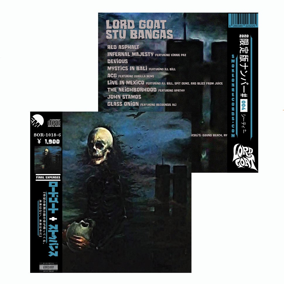 Image of Lord Goat + Stu Bangas - Final Expenses CD