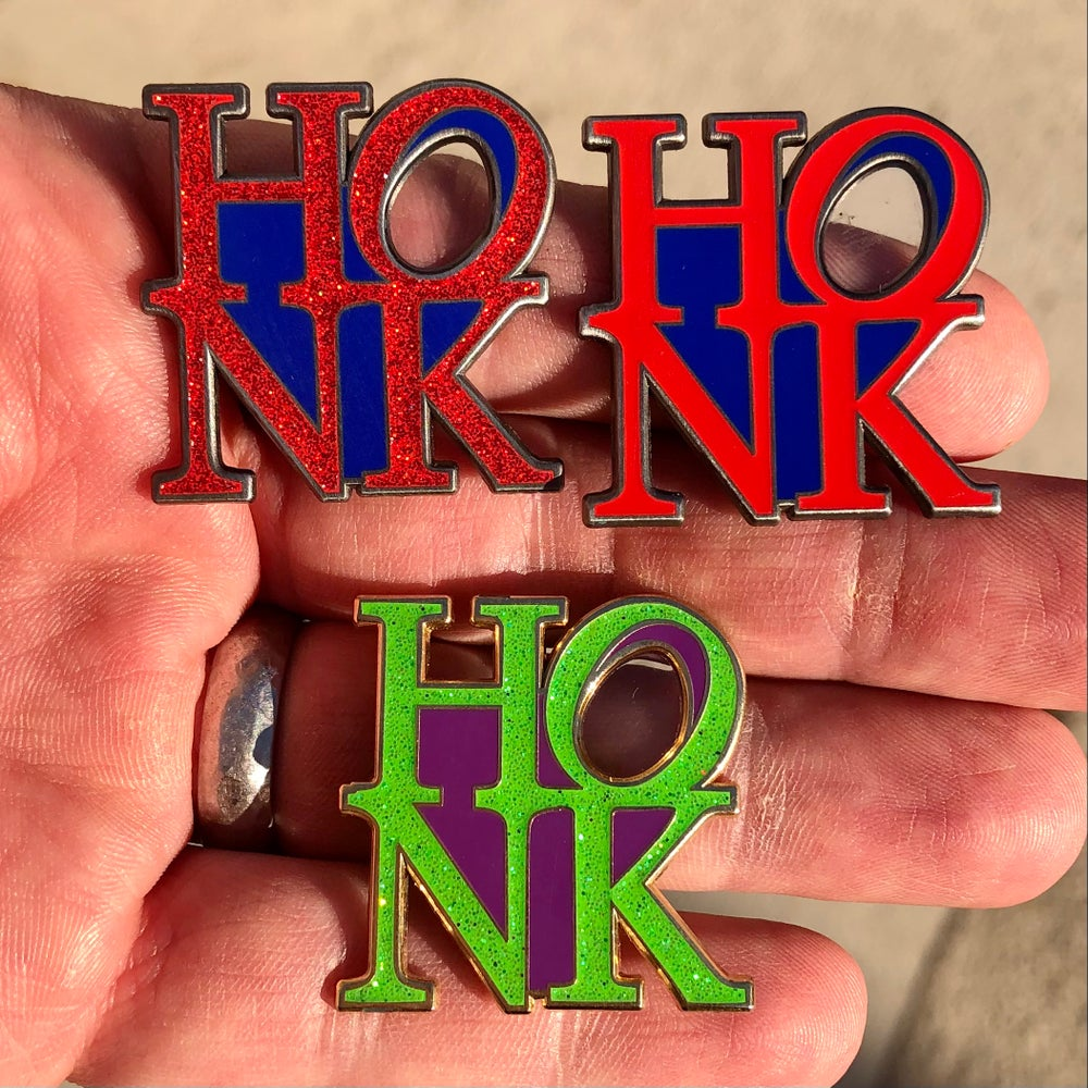 Image of HONK ❤️ pins