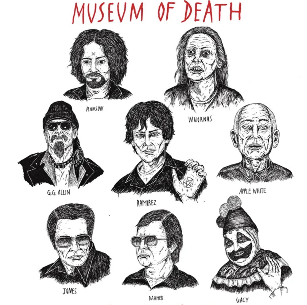Image of Museum Of Death's Rogue Gallery Shirt