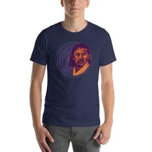 Uncle Jess Short-Sleeve Unisex Navy T-Shirt