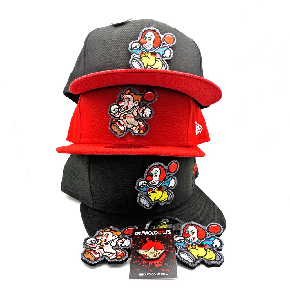 Pennywise custom snap back hat