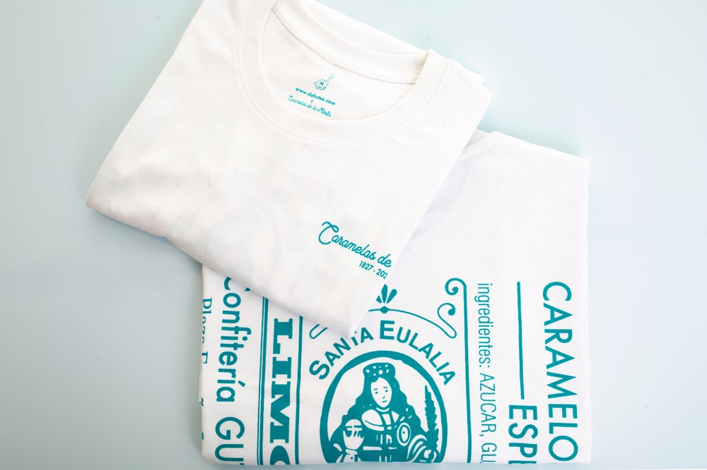 AGOTADAS // Camiseta 'Caramelos de la Mártir' - Blanca
