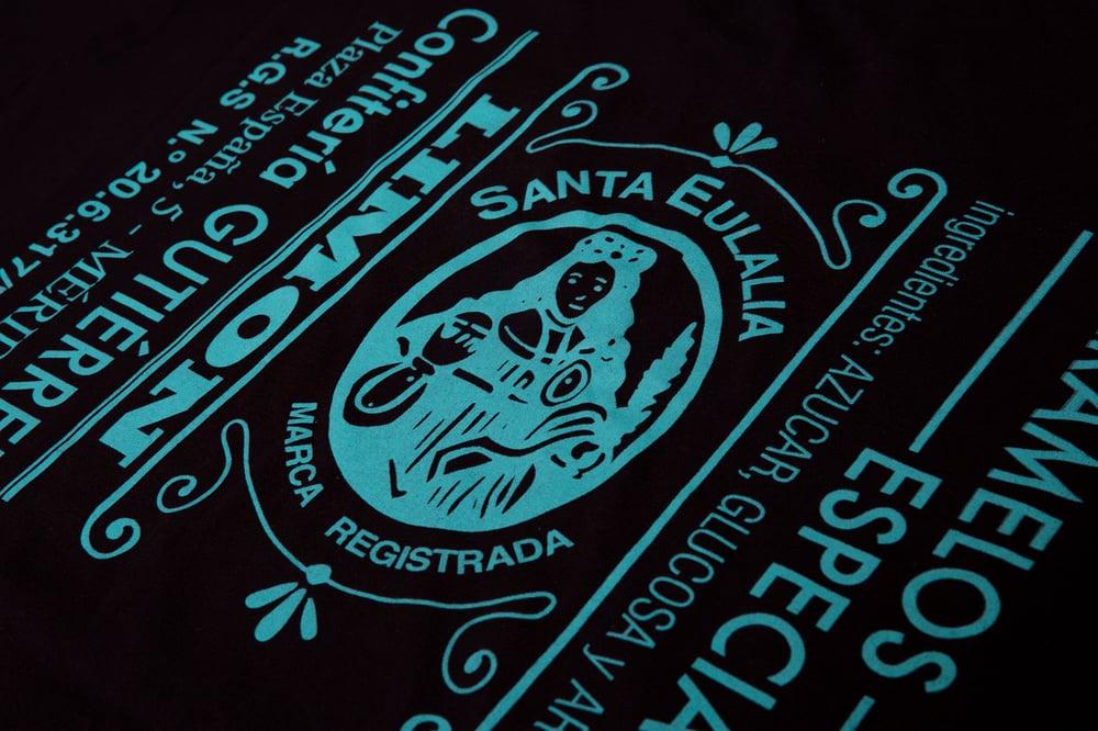 AGOTADAS // Camiseta 'Caramelos de la Mártir' - Negra