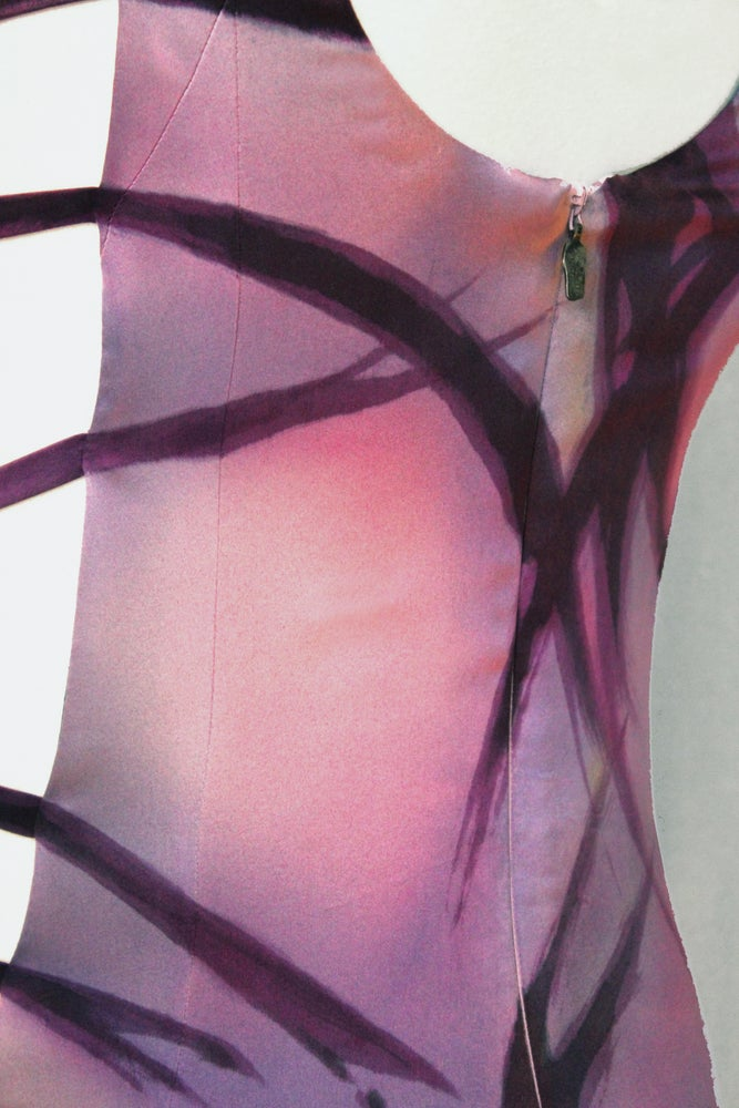"Image of ""AXIS"" SILK DRESS"