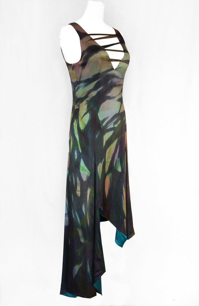 "Image of ""ALPHA"" SILK DRESS"