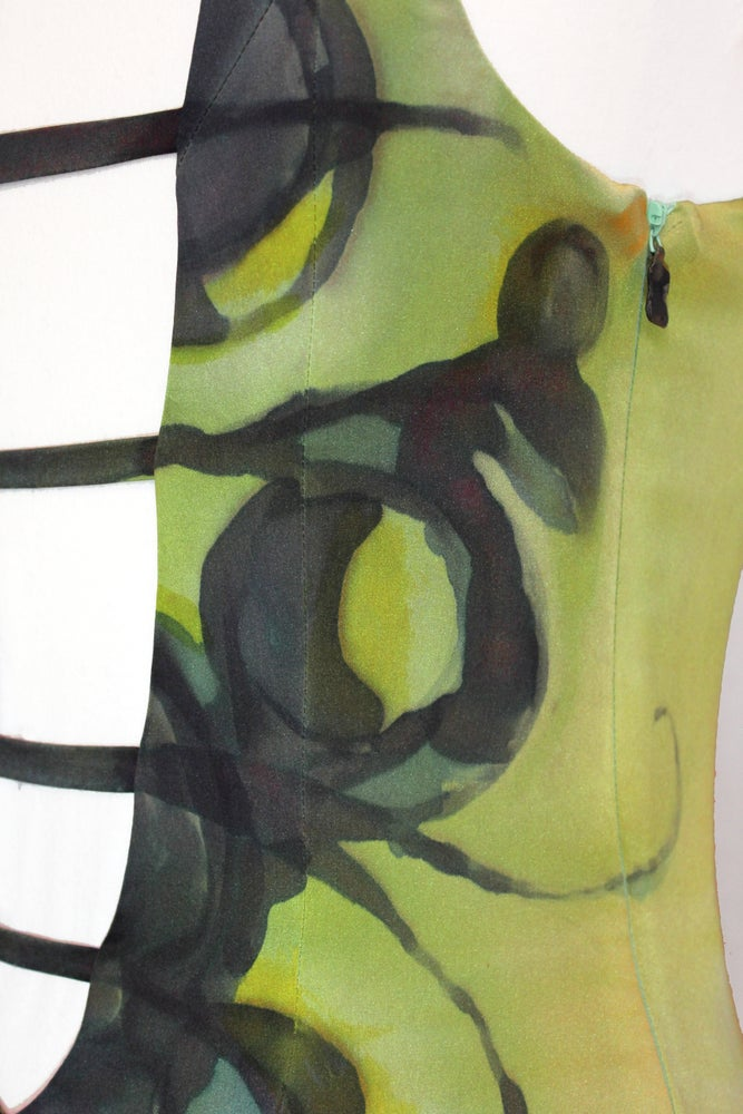 "Image of ""REVERB"" SILK DRESS"
