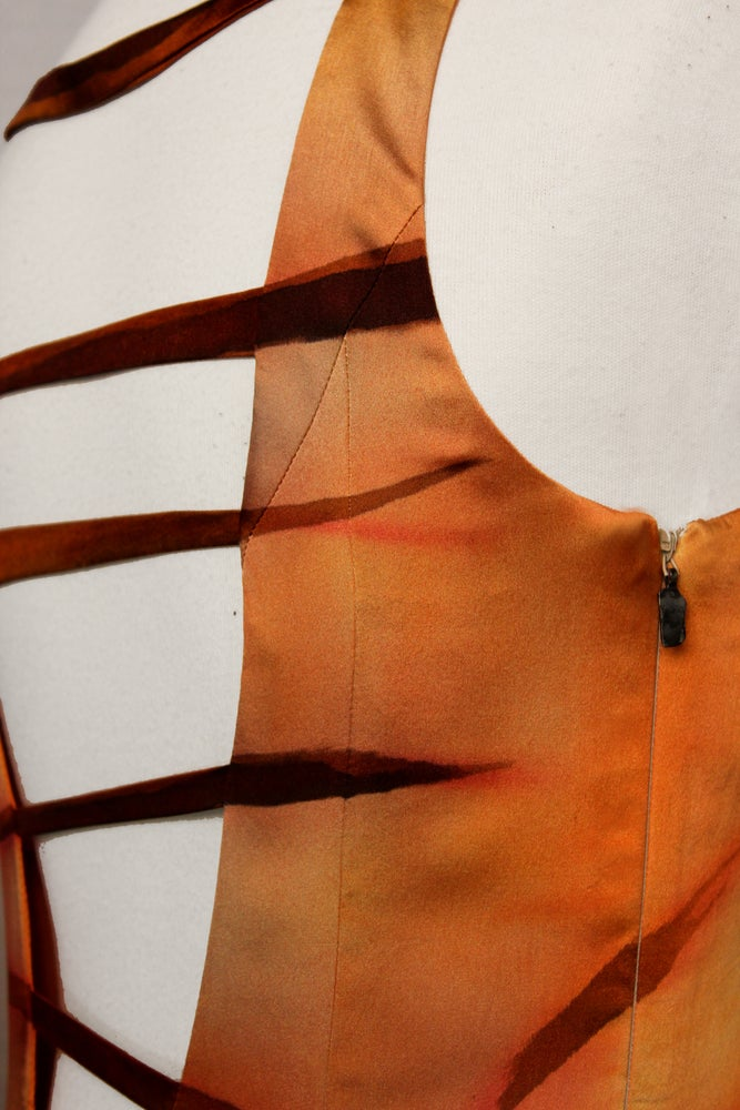 """Image of """"SAIL FOR THE SUN"""" SILK DRESS"""