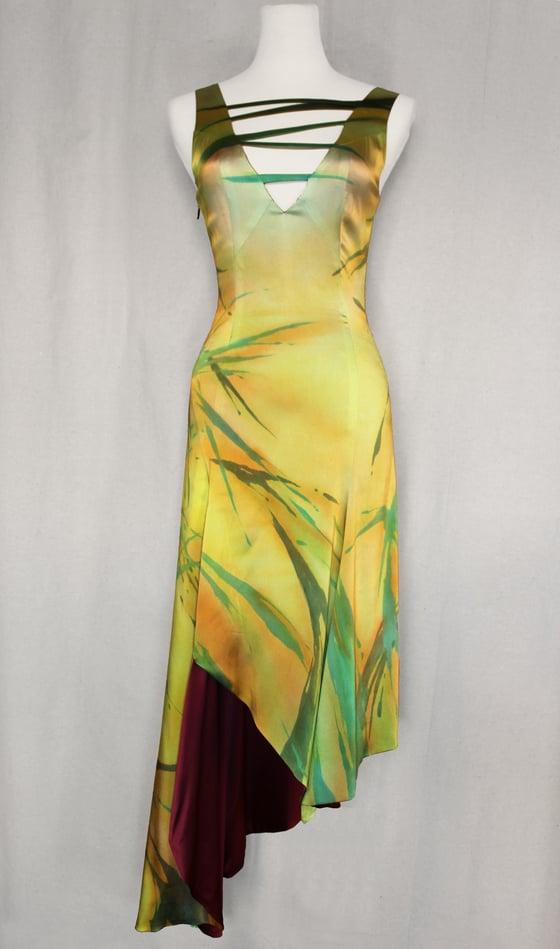 "Image of ""PATHWAYS"" SILK DRESS"
