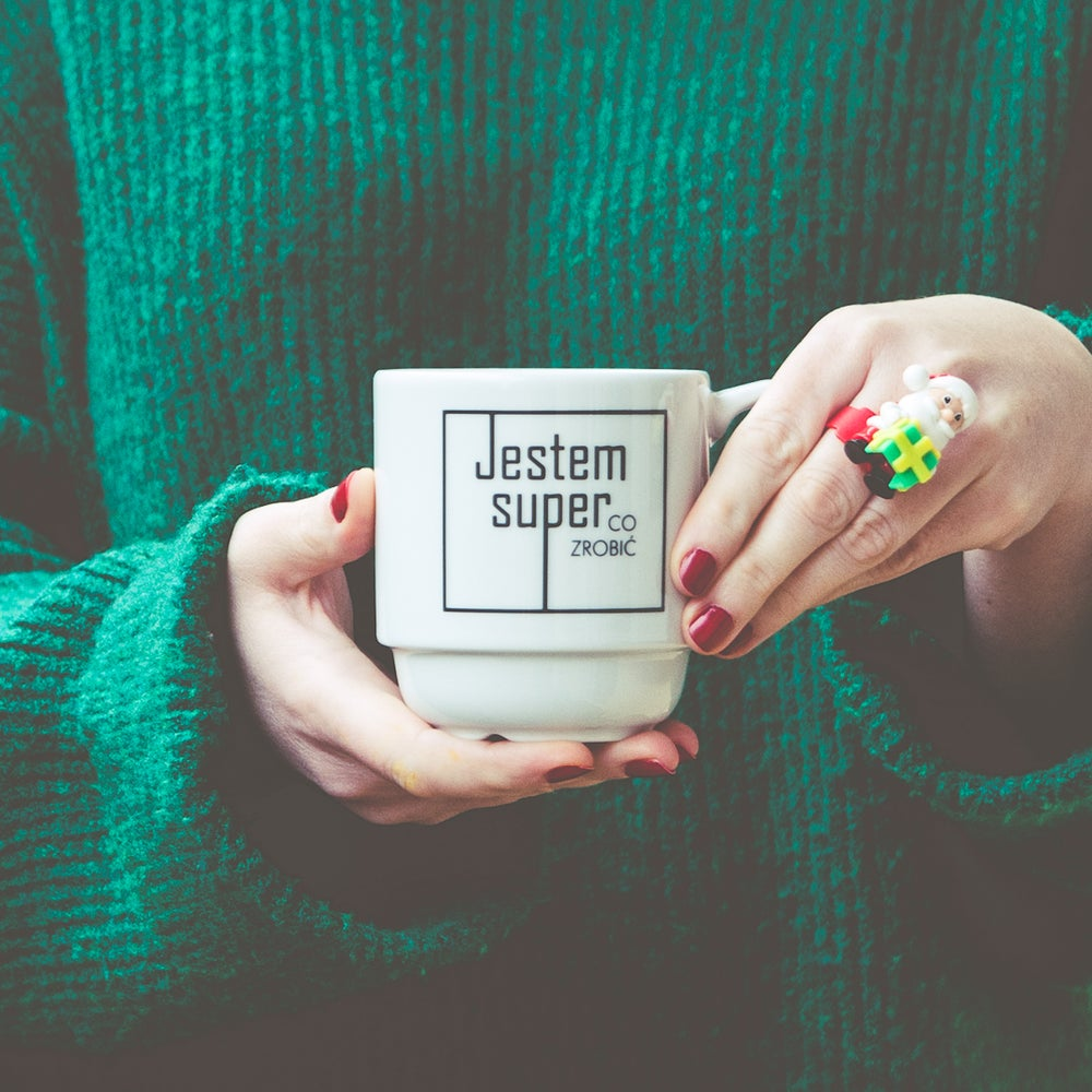 Image of kubek / jestem super, co zrobić / II