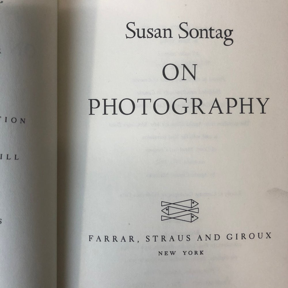Image of On Photography