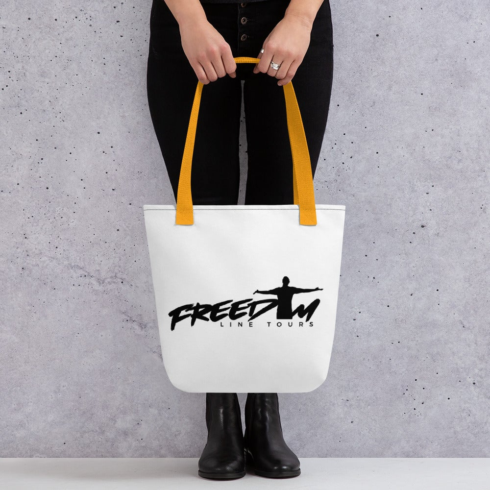 Image of Freedom Line Tours Tote bag