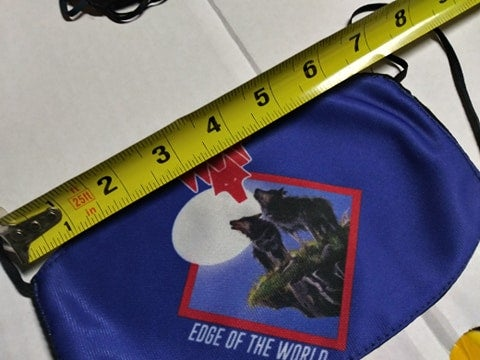 Wolf edge of the world Facemask *import*
