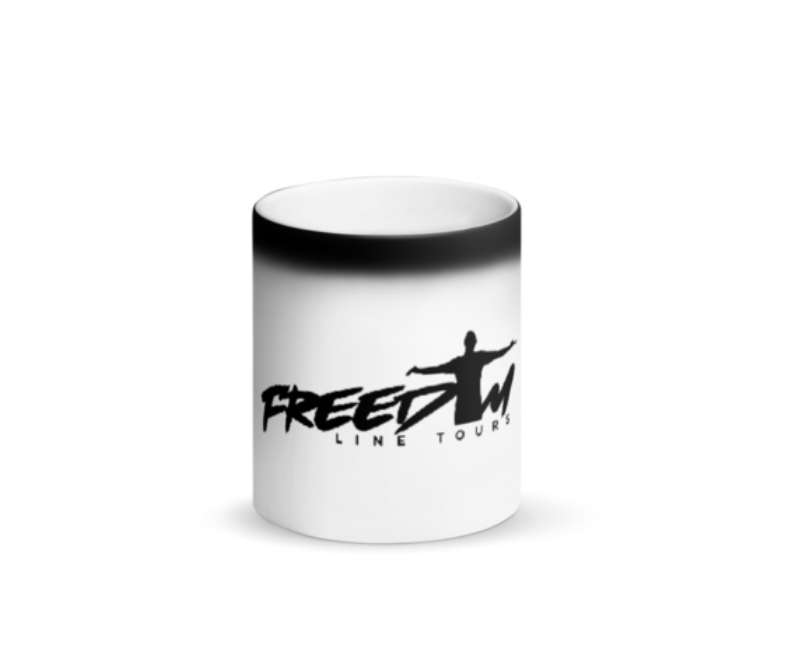 Image of Freedom Line Tours Black Magic Mug