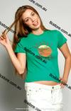 Sunset Beach Printed Tshirt