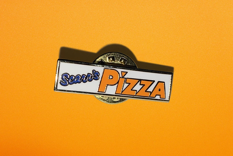 Image of Scarr's Pizza Year 1 Pin