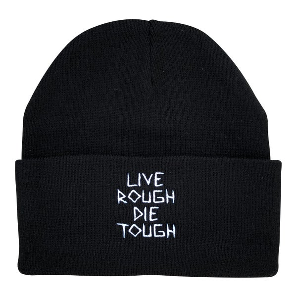 "Image of Black ""Scratch"" Beanie"