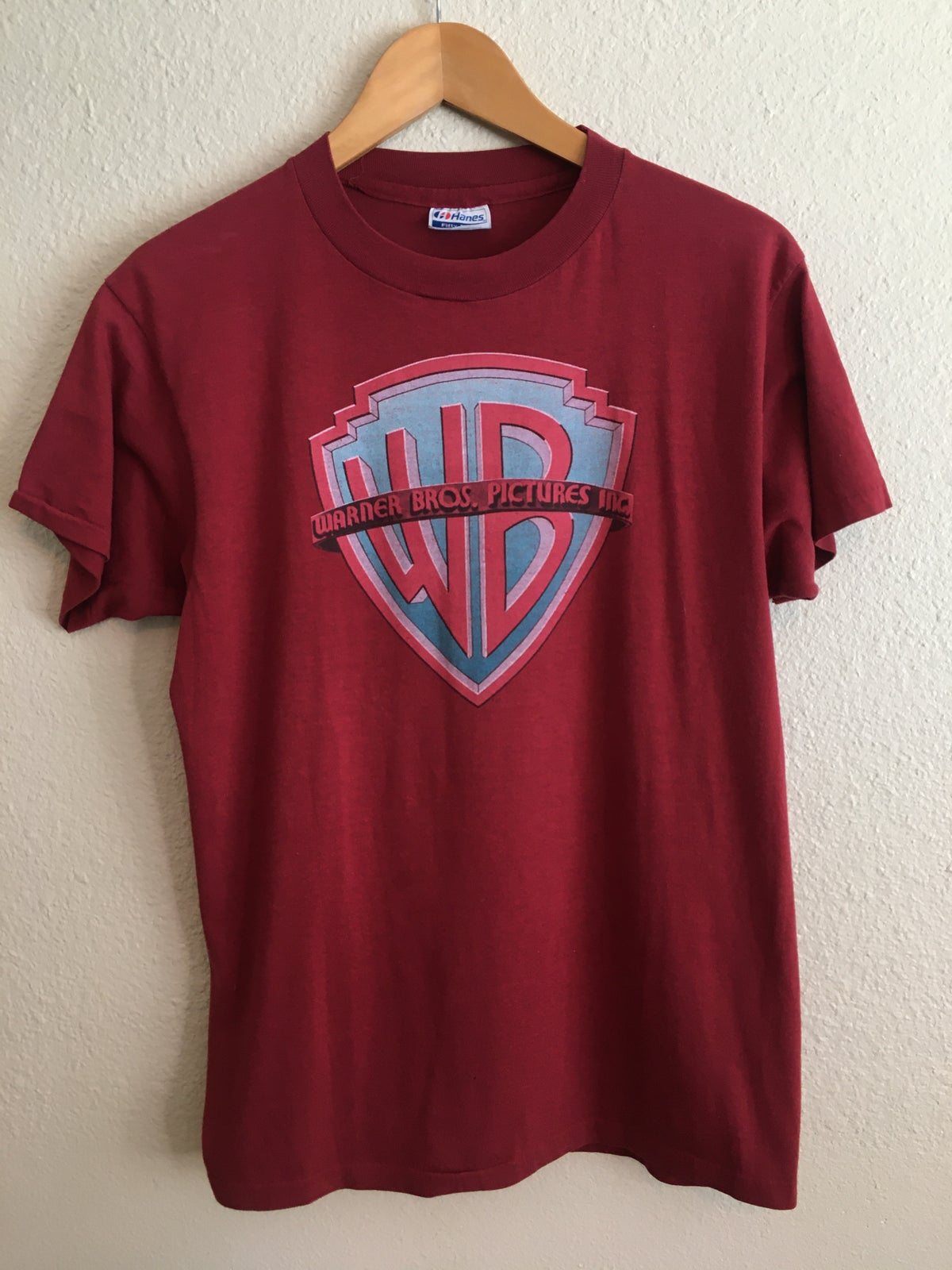 80's Warner Brothers  Pictures Inc Logo Tee