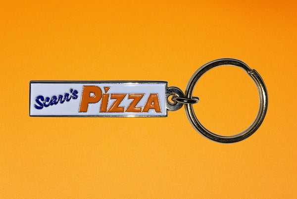 Image of Scarr's Pizza Year 1 Keychain