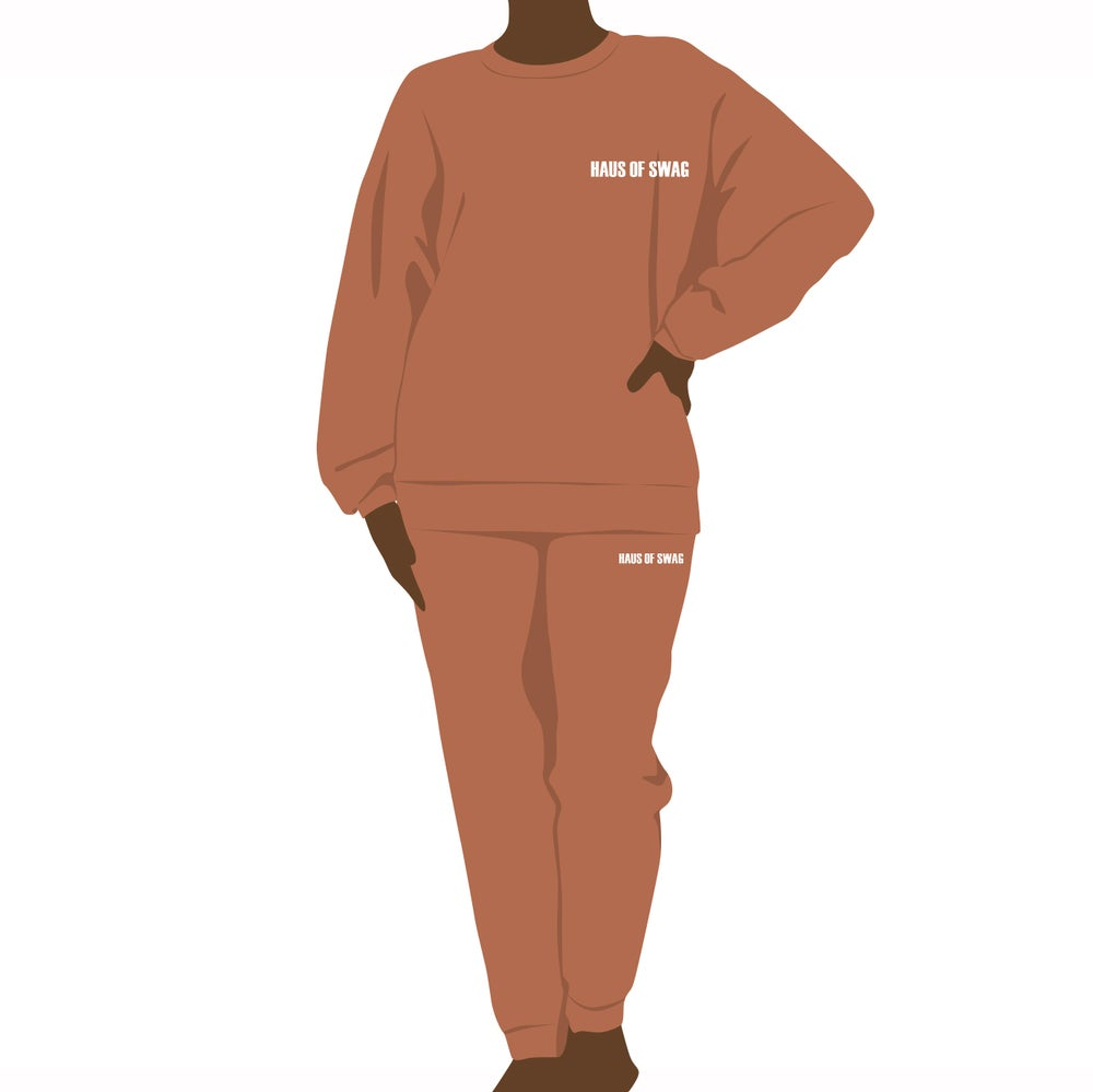 Image of Haus of Swag Signature Terry Fleece Jogger Set