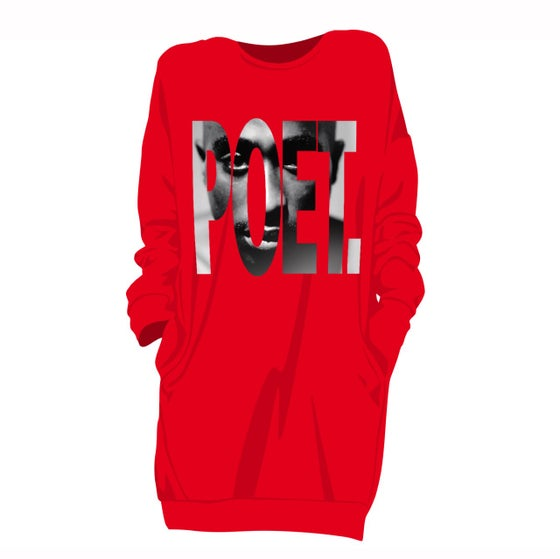 Image of POET: An Ode To Pac Sweatshirt Dress