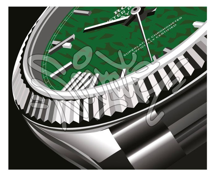 Image of ROLEX DAY-DATE - hand embellished