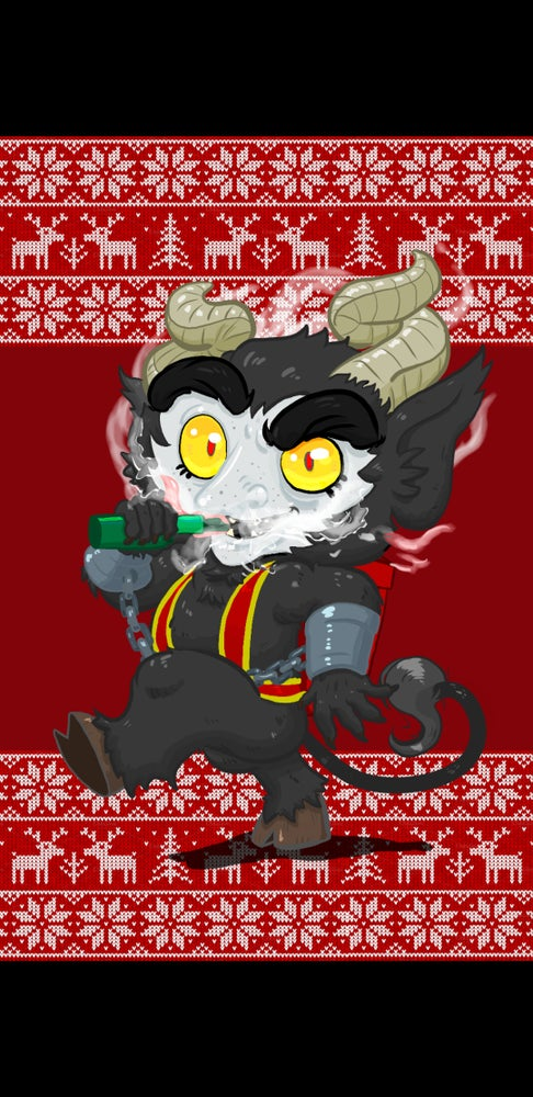 Image of Vaping Krampus