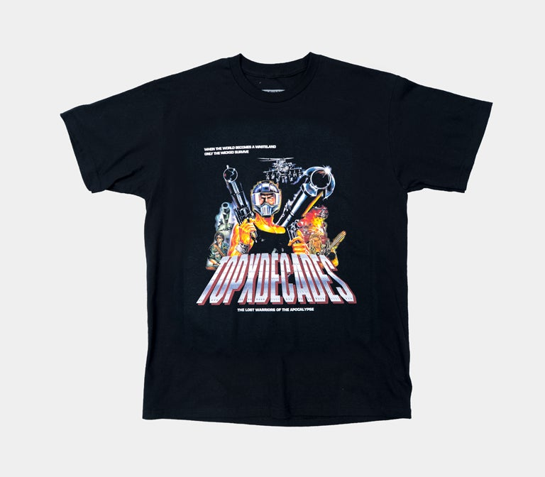 "Image of Decades/Terror Of Planet X ""Lost Warriors"" Tee"