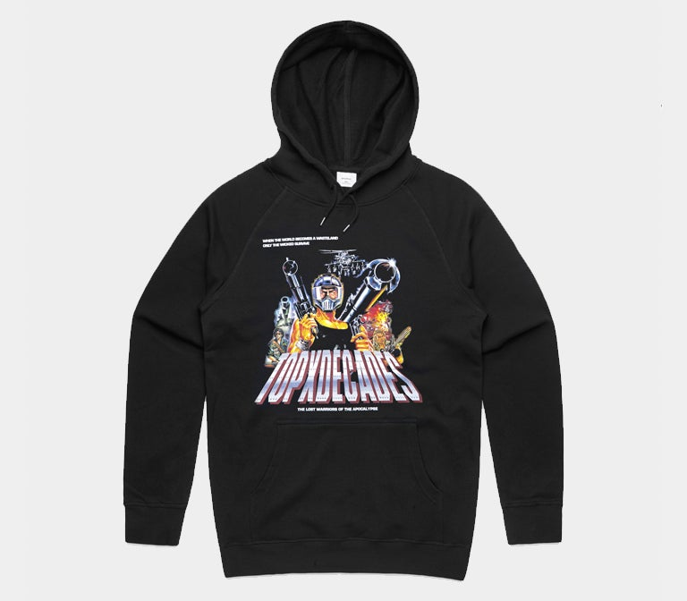 """Image of Decades/Terror Of Planet X """"Lost Warriors"""" Hoodie"""