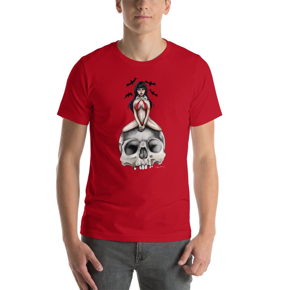 Image of She's a VAMP UNISEX TSHIRT RED