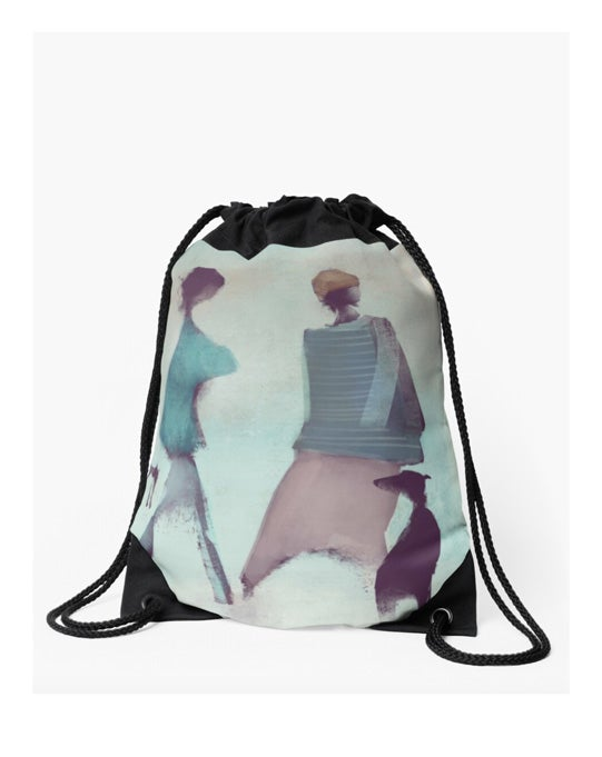 Image of Drawstring bag: Moonset