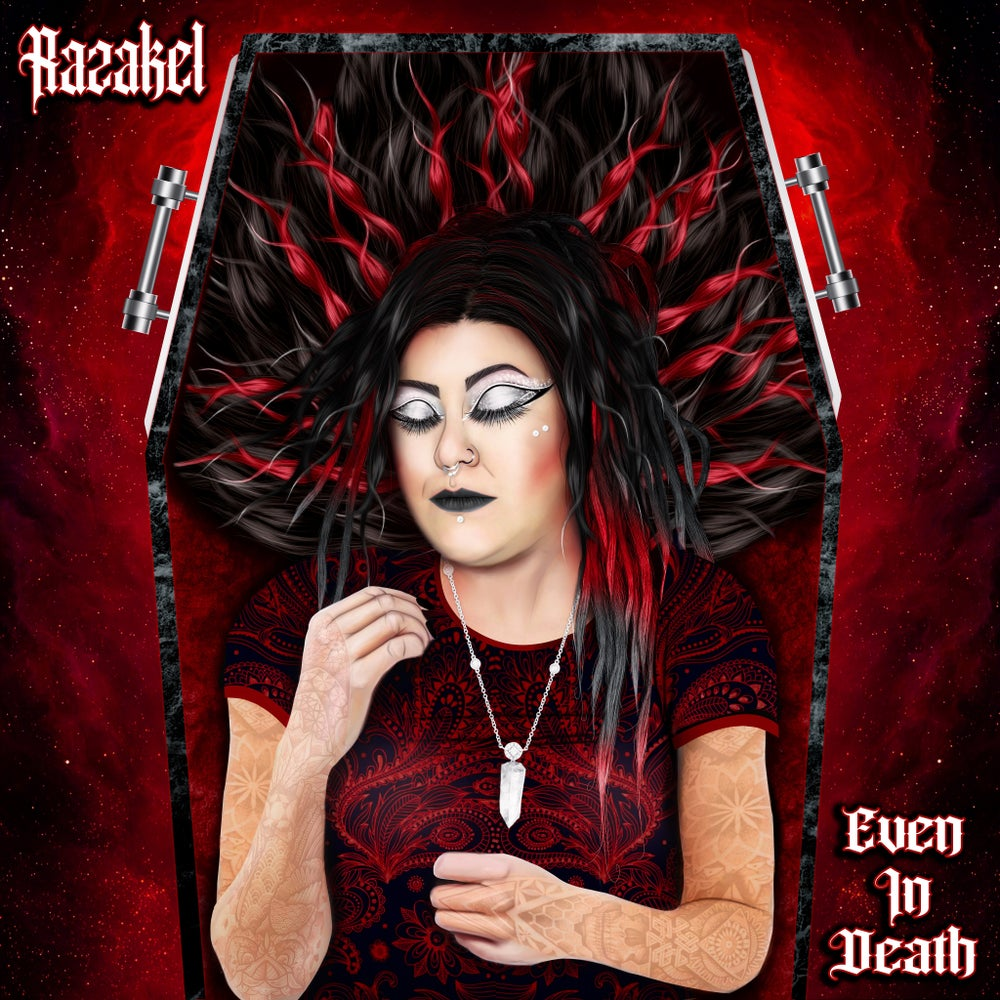 "Razakel ""Even In Death"" CD"