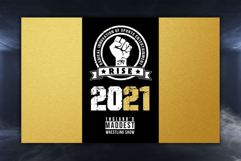 Image of RISE 2021 Gold Card. All 5 Events for £99.