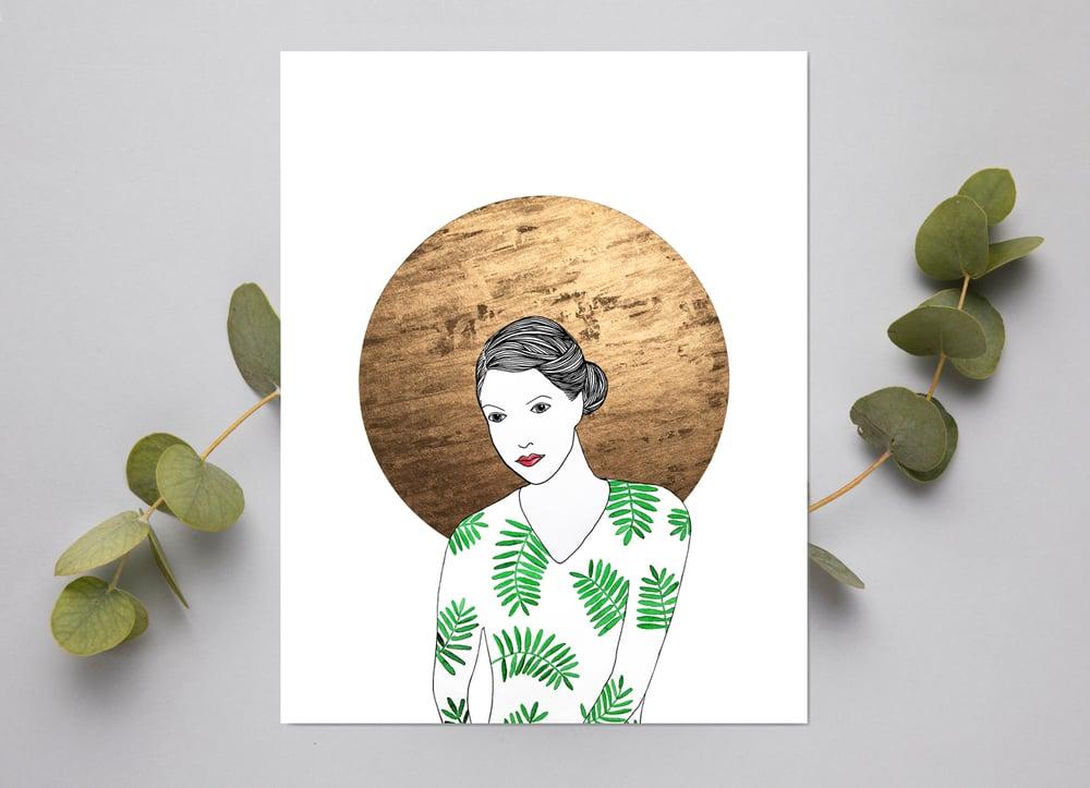 Image of Print: Fern