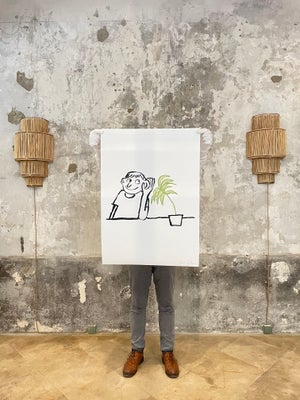 """Jean Jullien - """"Plant"""" - ALL ABOUT PRINT"""