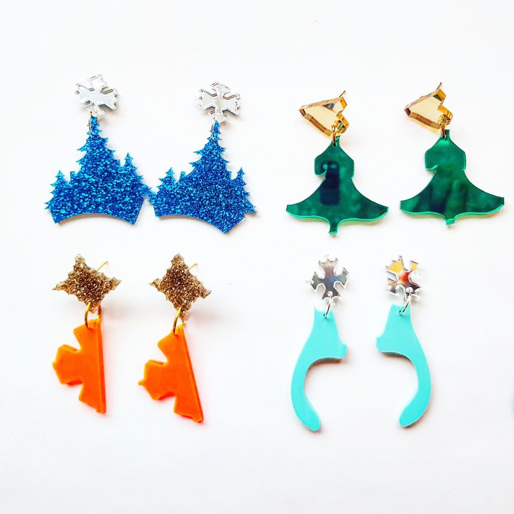Image of Zero Waste Recycled Earrings