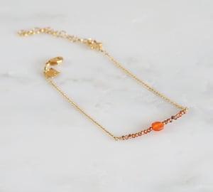 Image of Clandestine - Boucles et Bracelet Zircons